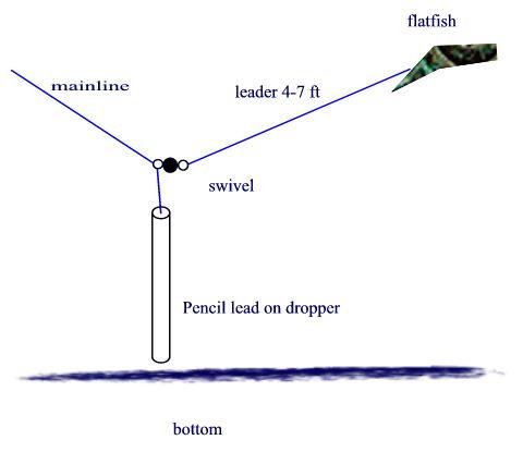 Bottom bouncing for Bottom bouncer fishing