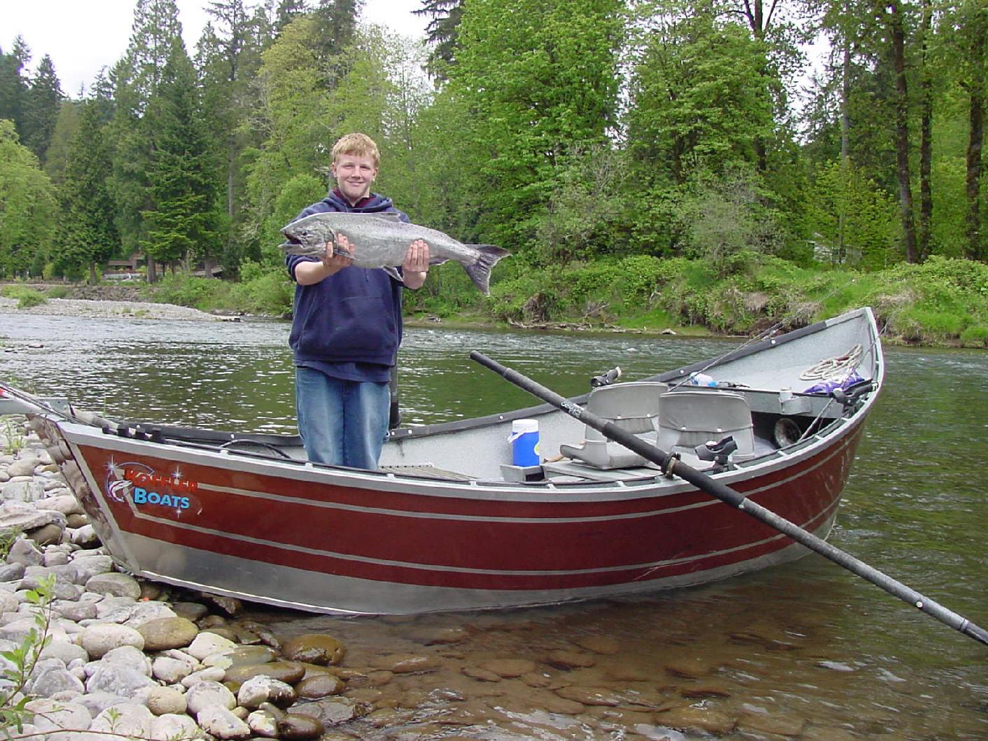 Tori masu guide service for Kalama river fishing